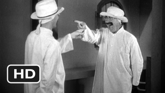 The classic mirror scene from The Marx Bros' Duck Soup (1933)