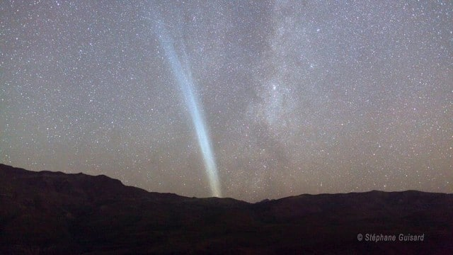 A night time lapse of Comet Lovejoy