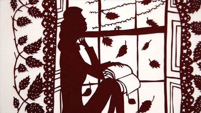 Rob Ryan's intricate paper cutting illustrations