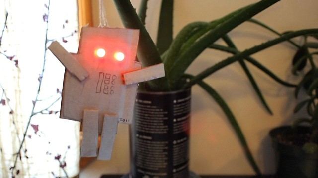 How to make a LED Robot Ornament – MAKE Projects