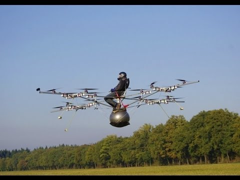 e-volo: The first manned flight with an electric multicopter