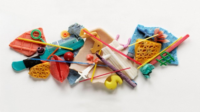 One Plastic Beach: Making art from found beach plastic
