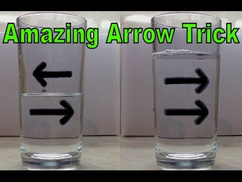 The Reversing Arrow Illusion An Amazing Amp Easy Trick For
