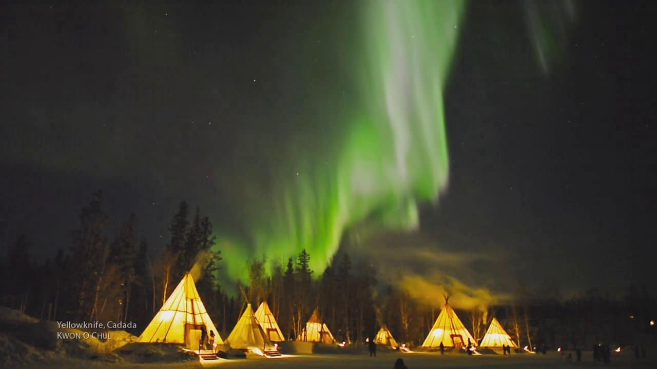 yellowknife auroras