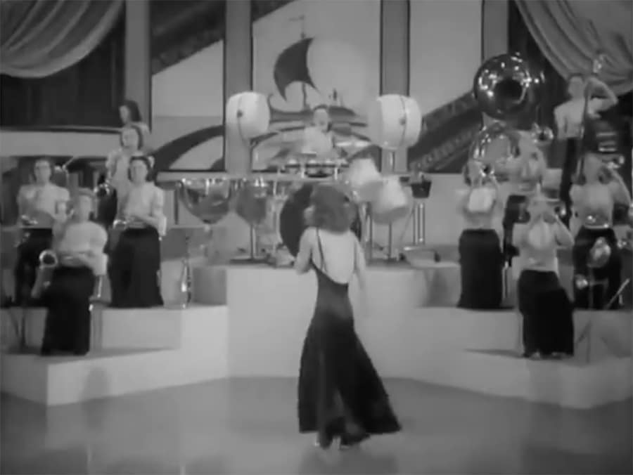 The Coquettes, and all female big band