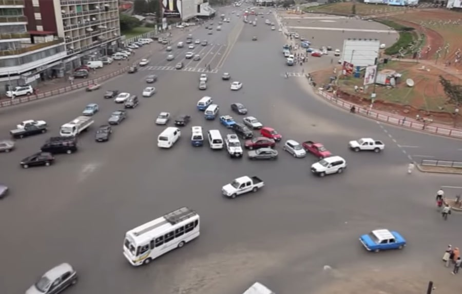 Meskel Square in Addis Ababa