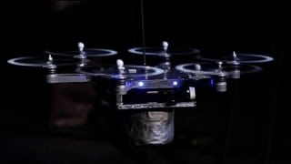 Flying Robot Orchestra