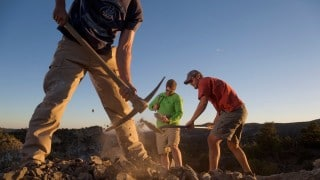 Fossil hunting in unexplored dinosaur country