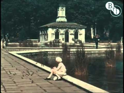 Incredible color footage of London in 1927