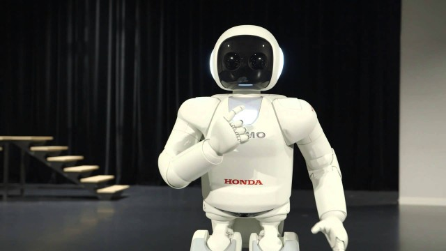ASIMO, the world's most advanced humanoid robot (2014)