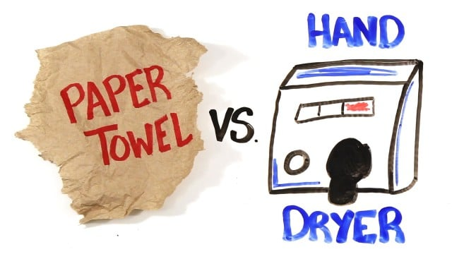 Paper Towel vs Hand Dryers – AsapSCIENCE