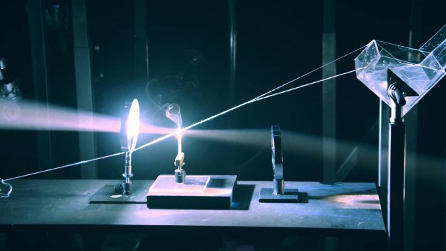 Power of Optics: A light-powered Rube Goldberg machine