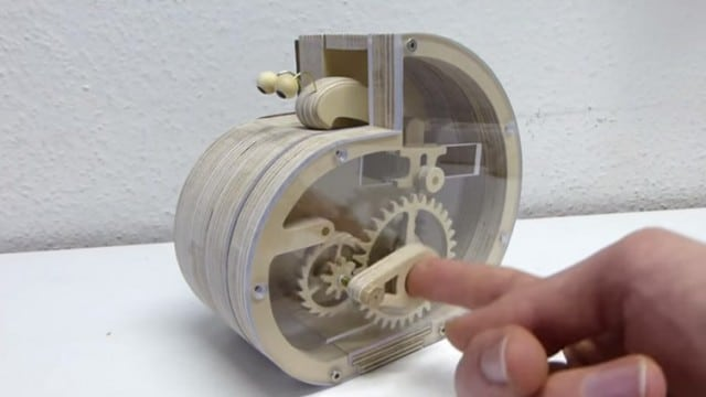 How to make a mechanical snail coin bank