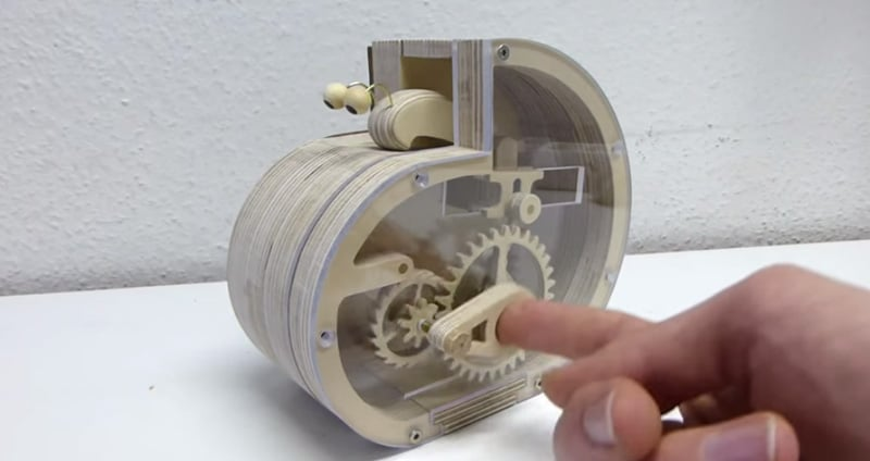 How to make a mechanical snail coin bank the kid should for How to make a coin bank
