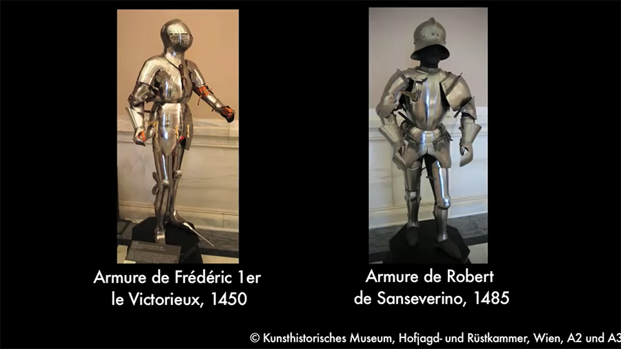 the suits of armor