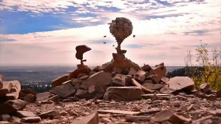 Gravity Glue: Balanced rock sculptures by Michael Grab