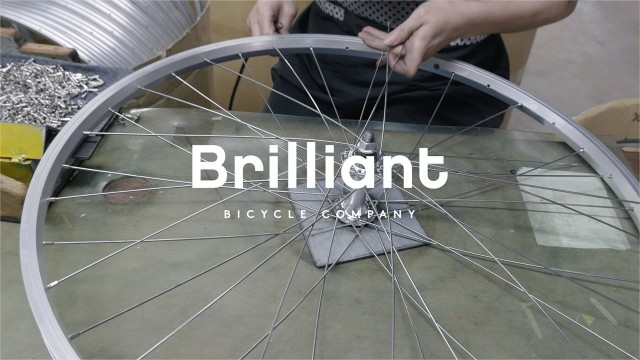 Inside Brilliant Bicycle: The Wheel Factory