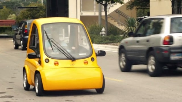 The Kenguru Wheelchair-Accessible Electric Vehicle
