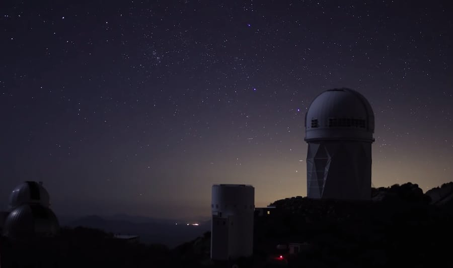 light pollution - observatory
