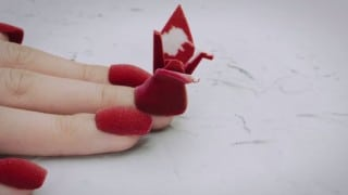 3D printed nail art animates with stop motion