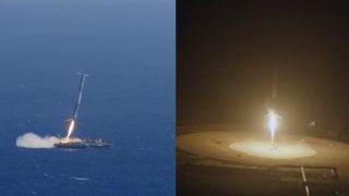 SpaceX's Falcon 9 crashes & landings – Flights 14, 17, 20, & 23