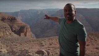LeVar Burton visits the Grand Canyon