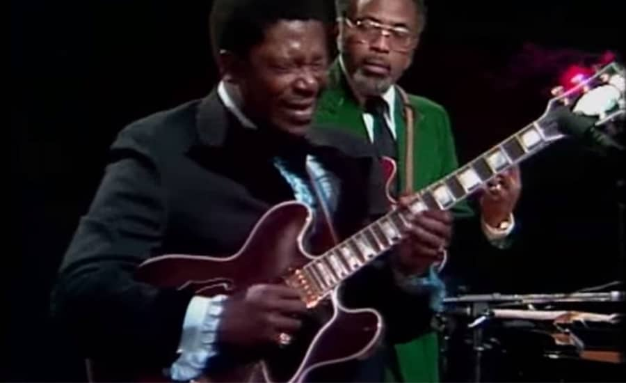 bb king in 1974