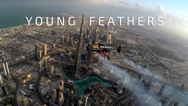 Jetman Yves Rossy flies over Dubai – Young Feathers 4K