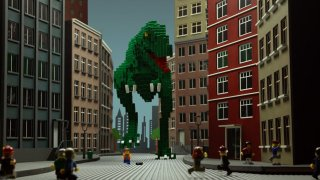 LEGO Adventure in the City:A brick-animated short story