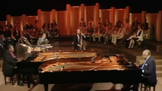 Oscar Peterson and Count Basie – Jumpin' At The Woodside