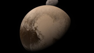 A New Horizons Pluto-Charon flyby simulation