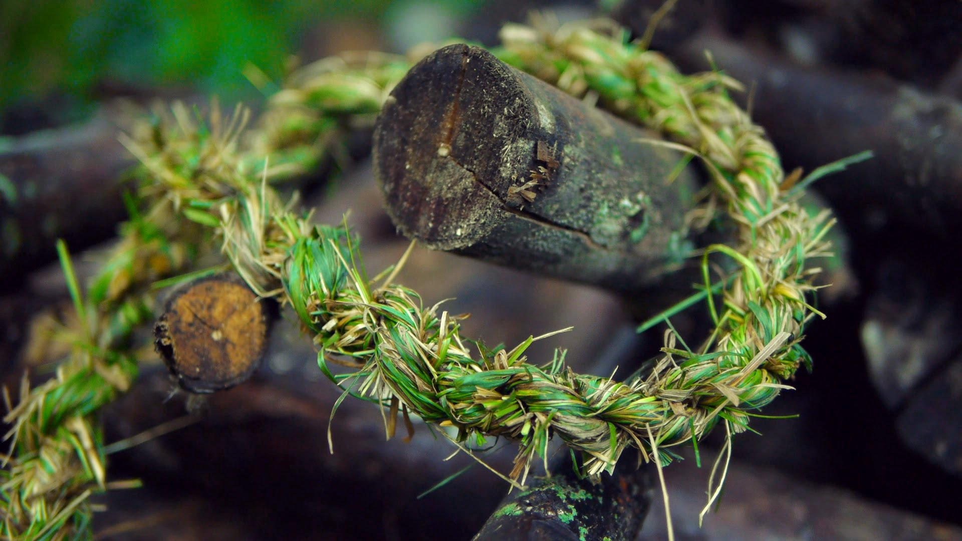 How To Make Rope From Grass   The Kid Should See This