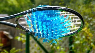 Jell-O Tennis – The Slow Mo Guys