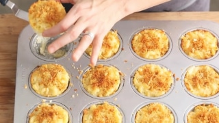 How to make individual Mac & Cheese cups