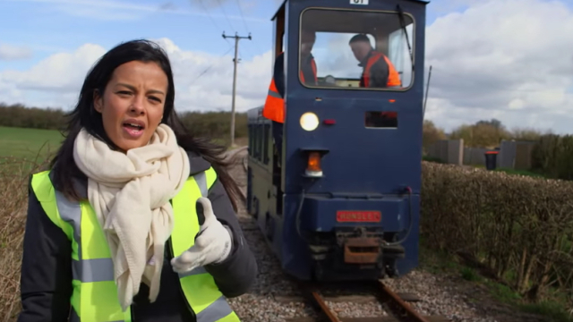 Why do autumn leaves cause train delays? – Liz Bonnin