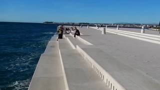 Morske Orgulje – The Sea Organ in Zadar, Croatia