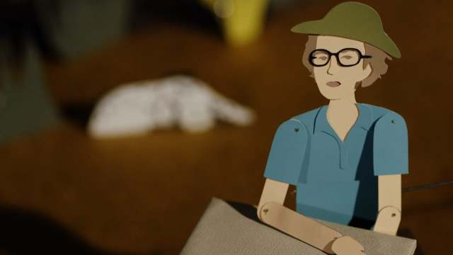 Animated Life: Mary Leakey & the Laetoli footprints