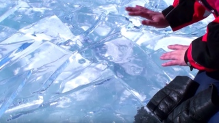 Ice Drumming on Lake Baikal