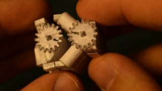 Tiny engines made with paper