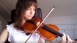 Adult beginner violinist – 2 years of progress in under 5 minutes