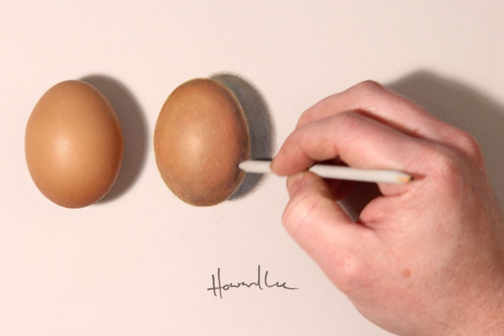 Howard Lee's hyperrealistic drawing illusions
