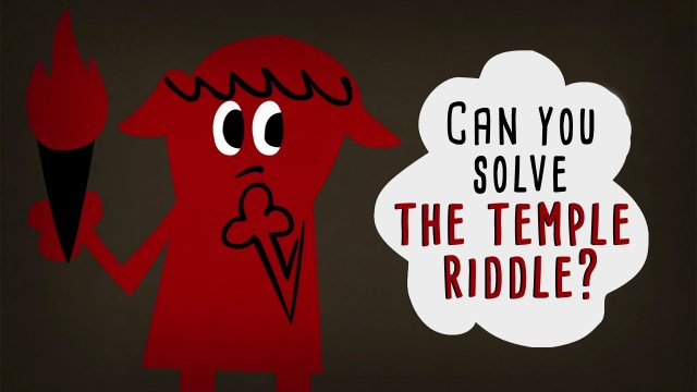 Can you solve the temple riddle? –TED Ed