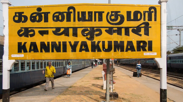 From Dibrugarh to Kanyakumari, a time lapse of India's longest train