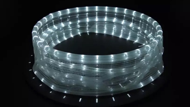 A 3D printed 'wheel-of-light' zoetrope that walks and dances