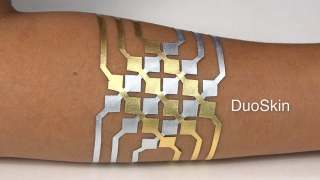 DuoSkin: Functional, stylish on-skin user interfaces