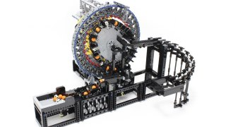Strain Wave Gearing LEGO Great Ball Contraption (GBC) Module