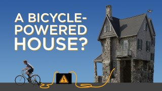 Can you power your home with a bicycle?