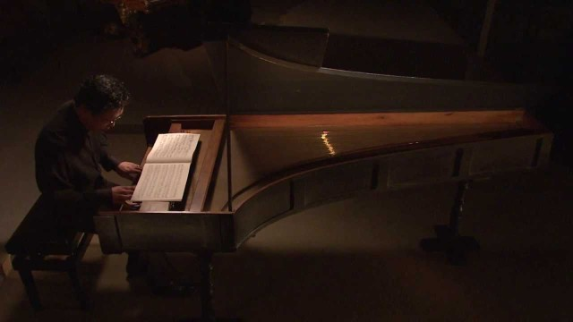 A sonata played on the earliest known surviving piano
