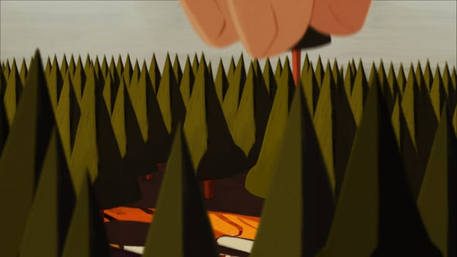 Biotop, an animation about declining tiger populations
