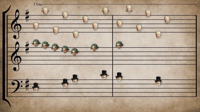 Classical Music Mashup II: 52 classical pieces from 31 composers